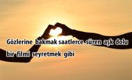Sevgiliye Aşk Dolu Sözler