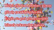 Balonla İlgili Sözler
