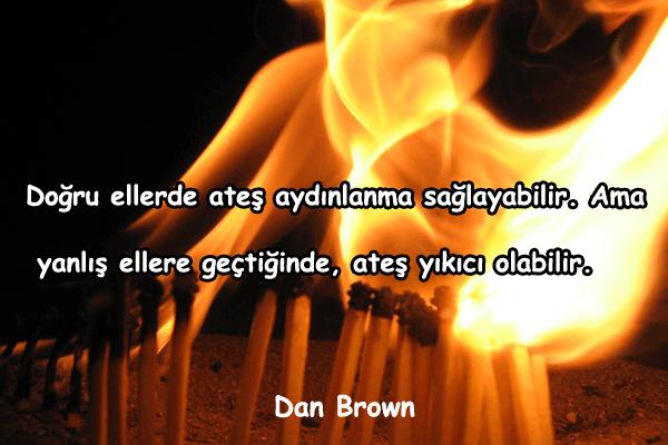 Ateş İle İlgili Sözler