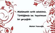 Müslümanlık İle İlgili Sözler