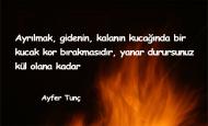 Ayfer Tunç Sözleri