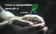 Alçak Gönüllülük İle İlgili Sözler
