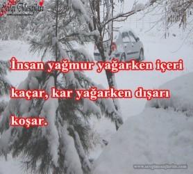 Kar İle İlgili Sözler