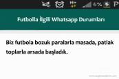 Futbolla İlgili Whatsapp Durumları