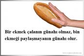 Ekmek İle İlgili Sözler