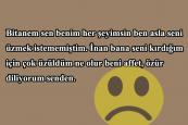 Eşe Özür Mesajları