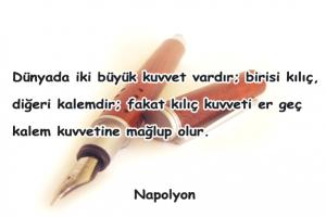 Kalemle İlgili Sözler