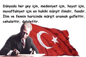 Atatürk'ün Bilim İle İlgili Sözleri