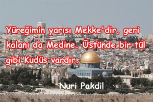 Kudüs İle İlgili Sözler