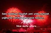 Yeni Yıla Girme Mesajları