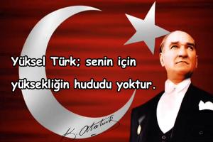 Türk İle İlgili Sözler