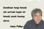 Adam Phillips Sözleri