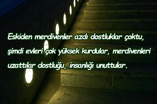 merdiven ile ilgili sözler