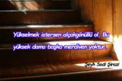 Merdiven İle İlgili Sözler