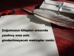 Mektup İle İlgili Sözler