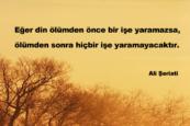 Ali Şeriati Sözleri