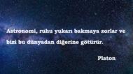 Uzay İle İlgili Sözler