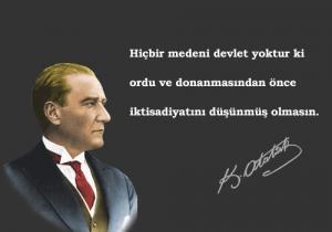 Atatürk'ün Devlet İle İlgili Sözleri